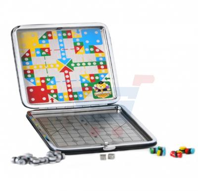 Brain Games Travelling Magnetic Ludo Leather Wallet