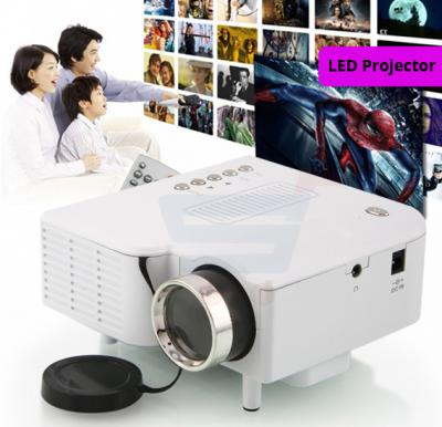 Multimedia Mini Portable LED Projector