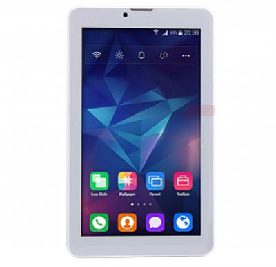 BSNL A15 Tablet 7 inch, Android 4.4, 16GB, Dual Core, 4G LTE, Dual Camera - White