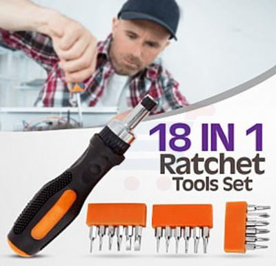 18 In1 Ratchet Tools Set, SDY91023