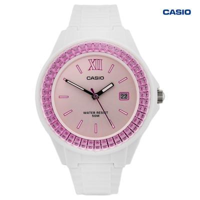 Casio LX-500H-4E1VDF Analog Watch For Women, White
