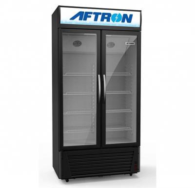 Aftron 680L ShowCase Double Door CHILLER  AFSC680F
