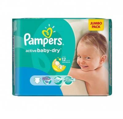 Pampers Active Baby  JP S6 XXL 72 pcs