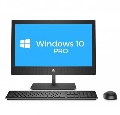HP ProOne 400 G4 AIO PC - i5-2.10GHz / 8GB / 1TB SSD / 20.0 Inch LED Non-Touch / Win 10 Pro / 1YW - Desktop, 4NT83EA