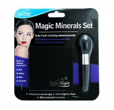 New Magic 3 In 1 Minerals Set  Self Correcting Mineral Powder - 4350