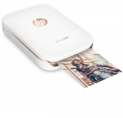 Hp Sprocket 2-in-1 Portable Photo Printer White
