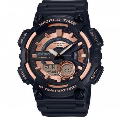 Casio Men s Telememo 30 Analog or Digital Watch AEQ-110W-1A3VDF