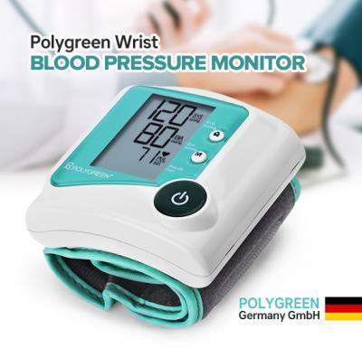 Polygreen wrist blood pressure monitor KP-6230