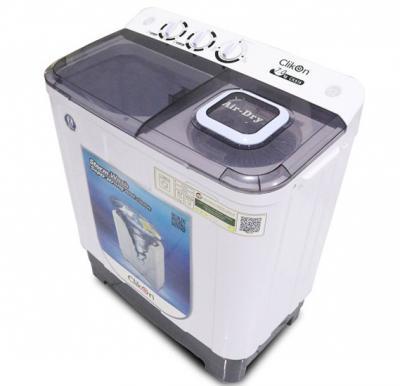 Clikon Washing Machine Twin Tub Semi-Automatic- 7Kg CK616