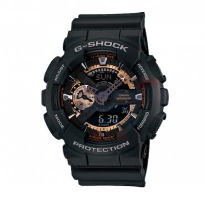 Casio G Shock GA-110RG-1ADR Analog Digital Watch-Black
