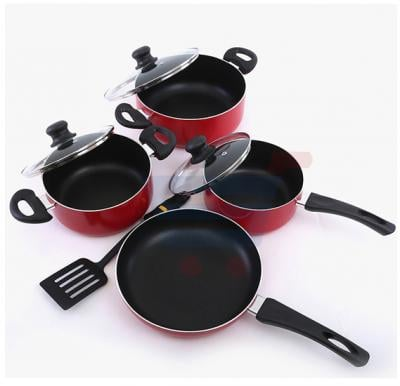Royalford 8 Pcs Non Stick Cookware Set - RF6082