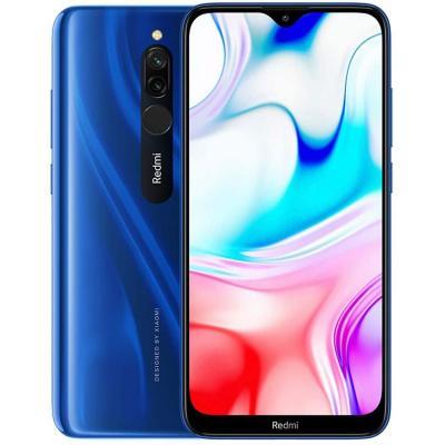 Xiaomi Redmi 8 Dual SIM 4GB RAM 64GB 4G LTE-Sapphire Blue