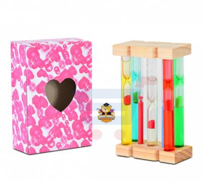 Brain Games Wooden Sand Timer