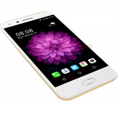 Mione X9 4G Smartphone , Android 5.1, 3 GB RAM, 32 GB Storage, 5.2 Inch IPS HD Display, Quad core, Dual Sim,Dual Camera, Gold