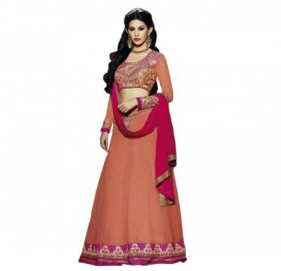 Fiona 11116 Georgette With Embroidery Designer Anarkali Dress Material