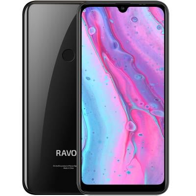 Ravoz Z5 Lite Dual SIM 3GB RAM 32 GB Storage 4G LTE, Midnight Black