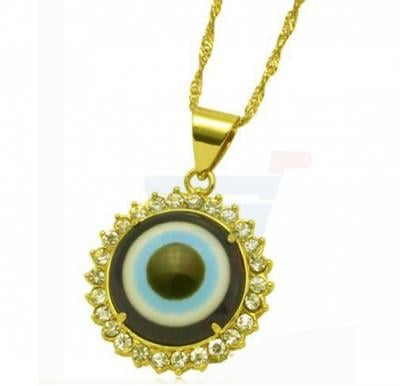 18k Gold Plated Gorgeous Evil Eye Neclace Set For Women