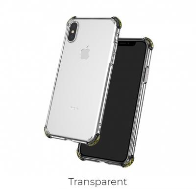 Hoco Ice Shield series TPU soft case for iPhoneX/XS, transparent