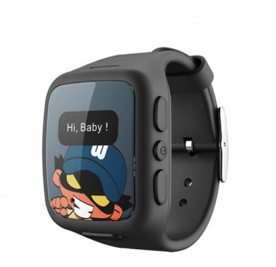UK Plus  Safety Smart GPS watch for kids Mobile Phone monitored through Smart mobile app,GPS_BK