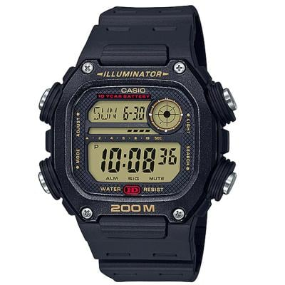 Casio DW-291H-9AVDF Digital Grey Dial Watch for Men