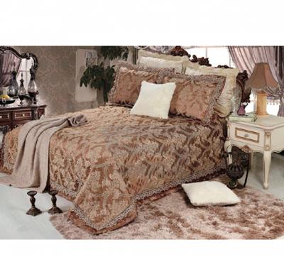 Senoures Lace Jacquard Bed Spread 3Pcs Set Double - SEB-003