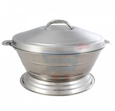 Royalford Stainless Steel Melody Hot Pot With Stand 3 Ltr - RF7483