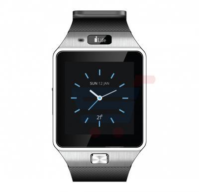 i Life Zed C  Smartwatch, 1.54 Inch Display, Bluetooth, 2G Calling