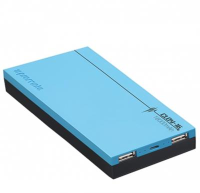 Promate Power Bank 16000mAh Cloy-16 Blue, Dual USB Lightweight Portable Charger