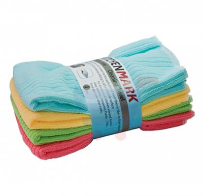 Kitchenmark Towel 4Pcs Set Multi Colours-SF8471