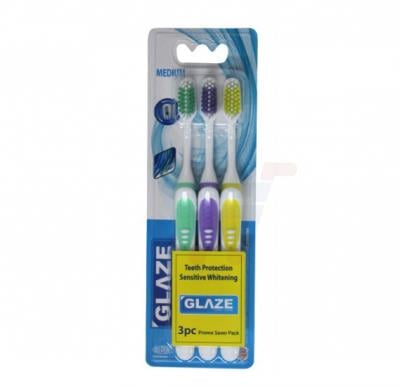 Glaze Toothbrush Spectrum Tripple Pack Hard