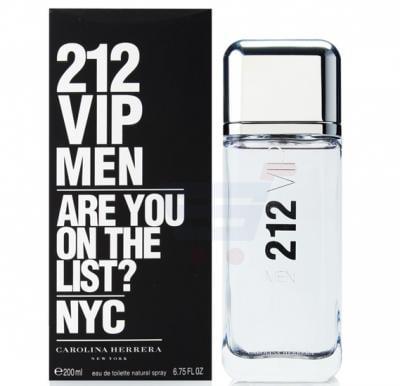 Carolina Herrera 212 Vip Eau De Toilette Spray for Men 100 ML
