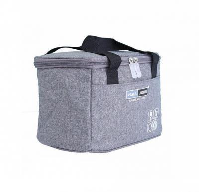 Para John Lunch Bag,  Grey, PJLHB9626