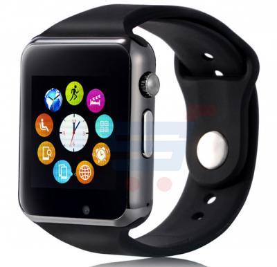 Enet W8 Smart Watch - Black Hours Deal