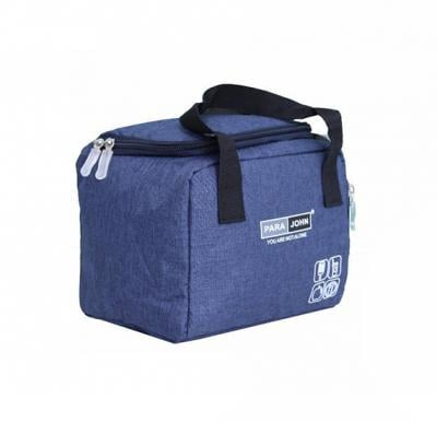 Para John Lunch Bag,  Blue, PJLHB9627