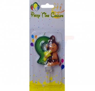 Party Time Candle animal 9 M116