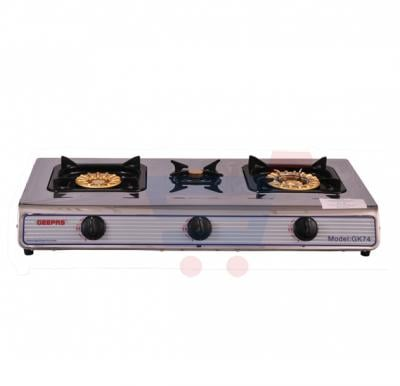 Geepas GK74 Kitchen Appliance - Gas Cooker