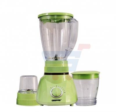 Geepas 3 In 1 Blender GSB1514, Powerful Blender With 2 Mills