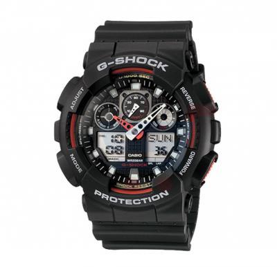 Casio G-Shock GA-100-1A4DR Digital Watch For Men-Black