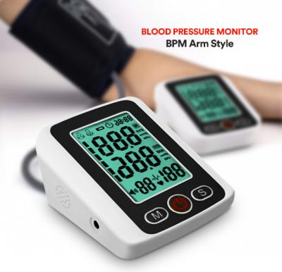 Electronic Blood Pressure Monitor with voice Function BPM Arm Style -