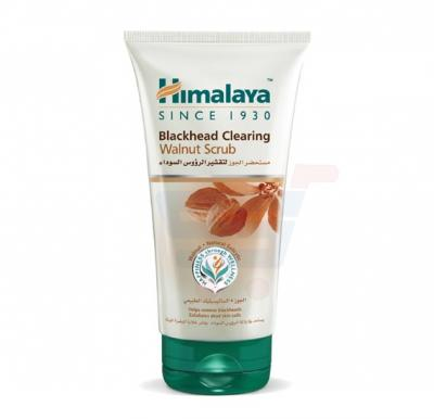 Himalaya Black Head Clearing Walnut Scrub 150 ML - NHS0356