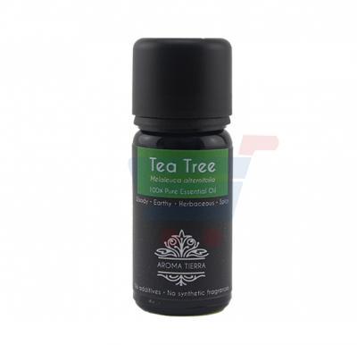 Aroma Tierra Tea Tree 100% Pure Essential Oil 10ml,62947ES036010