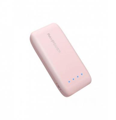 RAVPower 6700mAh Power Bank Pink, RP-PB060