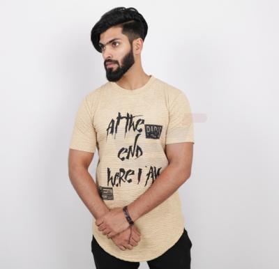 Nansa Mens Tshirt Brown - NAABF15615X - M