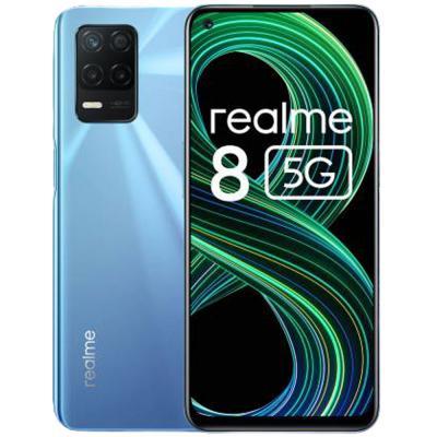 Realme 8 Dual SIM Supersonic Blue 6GB RAM 128GB Storage 5G LTE