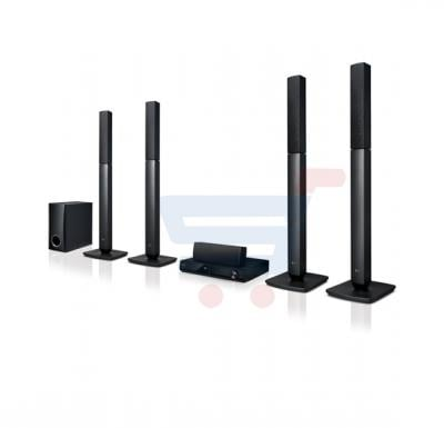 LG 5.1 Ch Home Theater System With DVD Player - LHD457