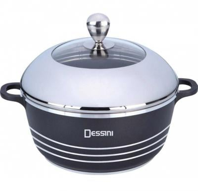Dessini NonStick Cooking Pot 20 Cm Black, DessiniSL66