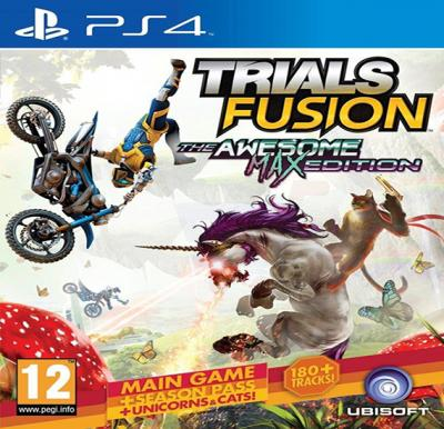Ubisoft Trials Fusion For PS4