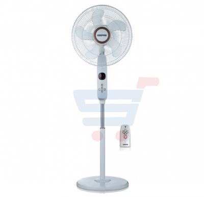 Geepas Remote Control Stand Fan, With LED display,GF9482