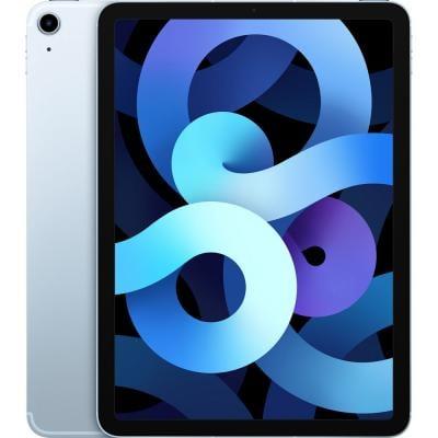 Apple iPad Air 4 10.9 inch WiFi and Cell 64GB Storage Sky Blue, MYH02B/A