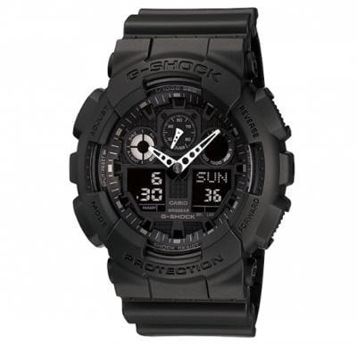 Casio G-shock Digital Analog Watch Black, GA-100-1A1DR